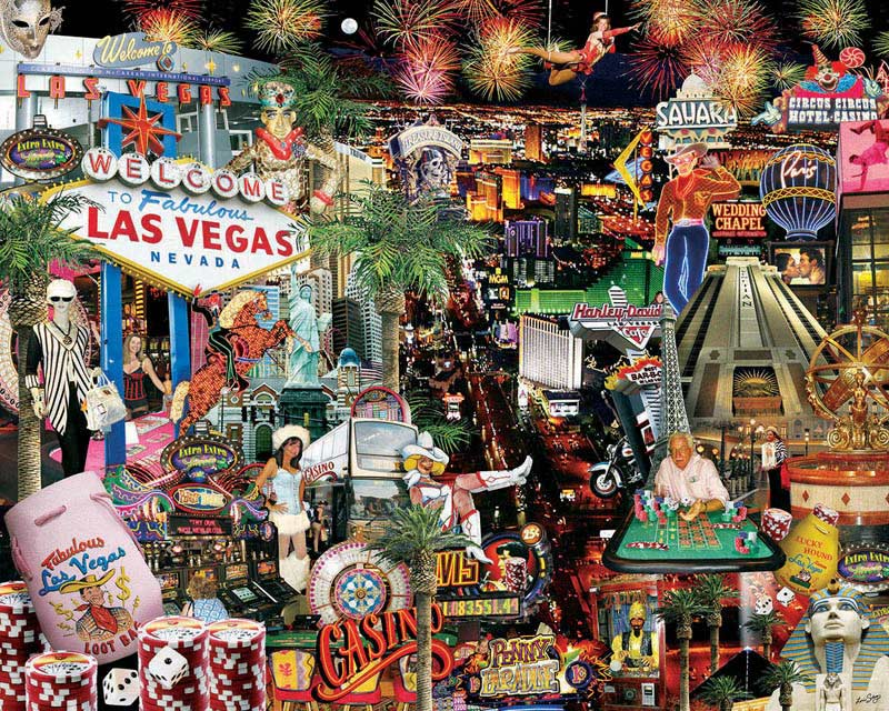 Viva Las Vegas! Las Vegas Jigsaw Puzzle