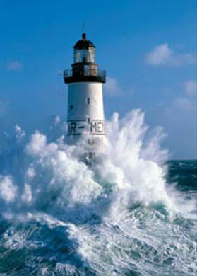 Lighthouse In The Storm Jigsaw Puzzle Puzzlewarehouse Com