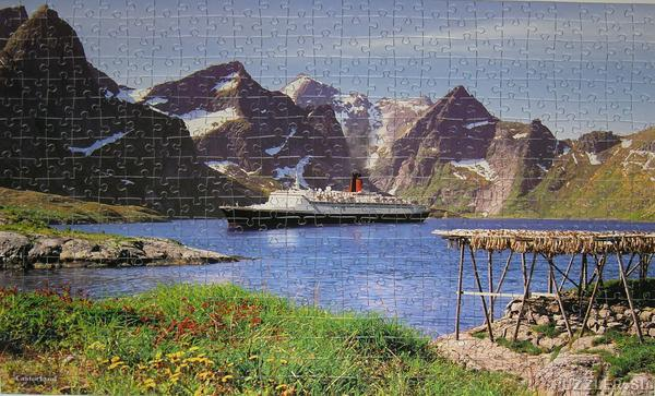 Lofoten Islands, Norway Mountains Jigsaw Puzzle