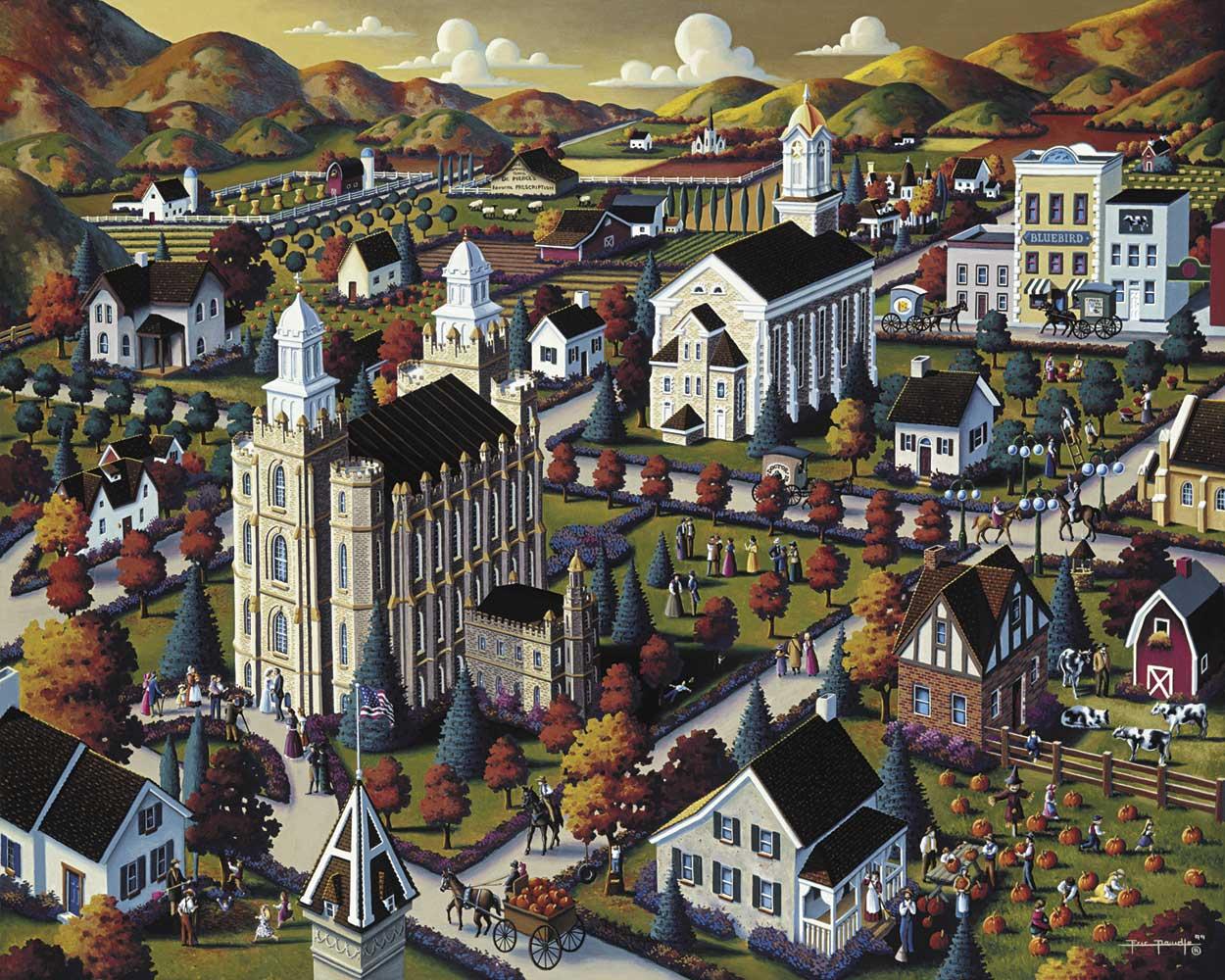 Logan Fall United States Jigsaw Puzzle