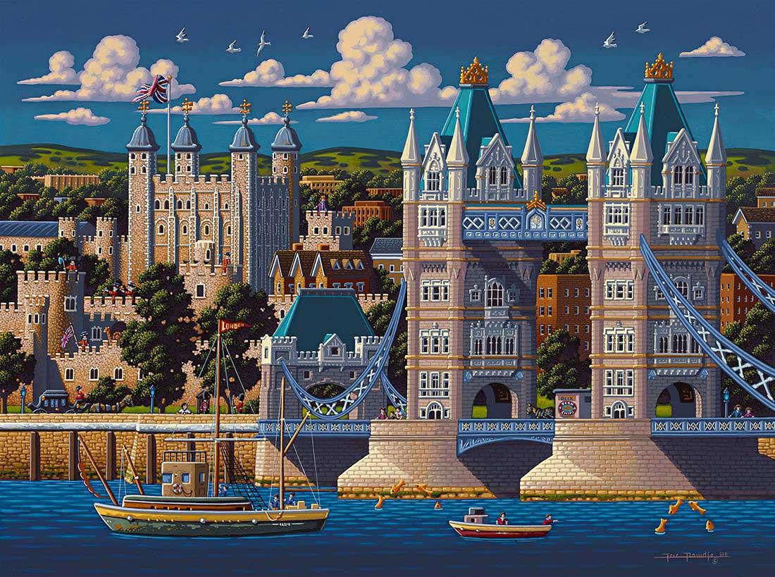 London Tower Bridge Landmarks / Monuments Jigsaw Puzzle
