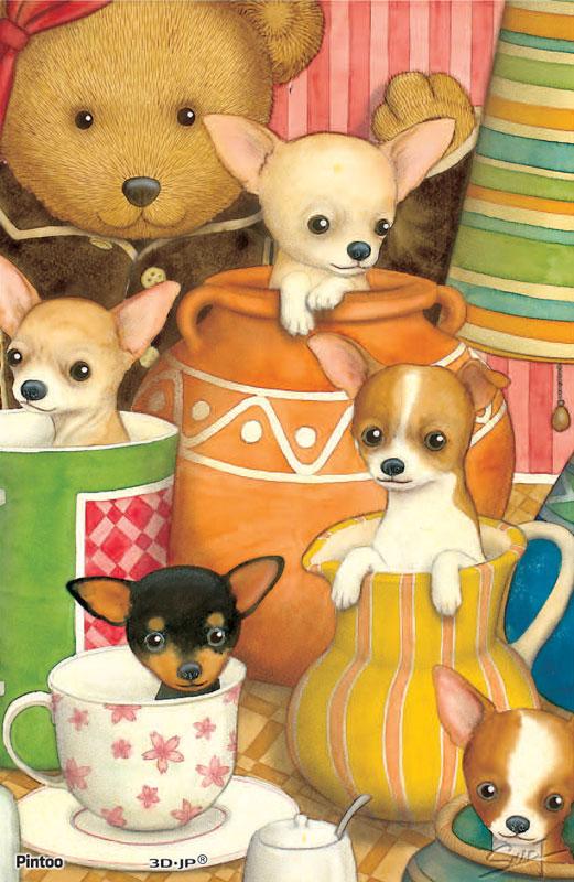 Tyro SMART - Dog 07 Dogs Jigsaw Puzzle