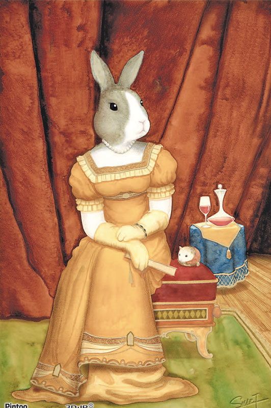 Tyro SMART - Babbie Rabbit 01 Other Animals Jigsaw Puzzle
