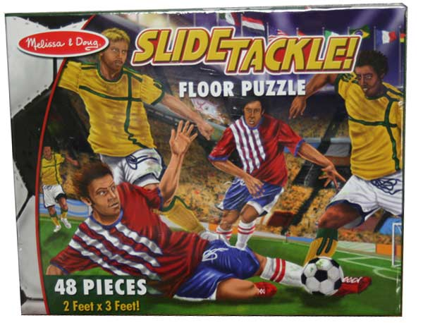 Slide Tackle - Floor Sports Children's Puzzles