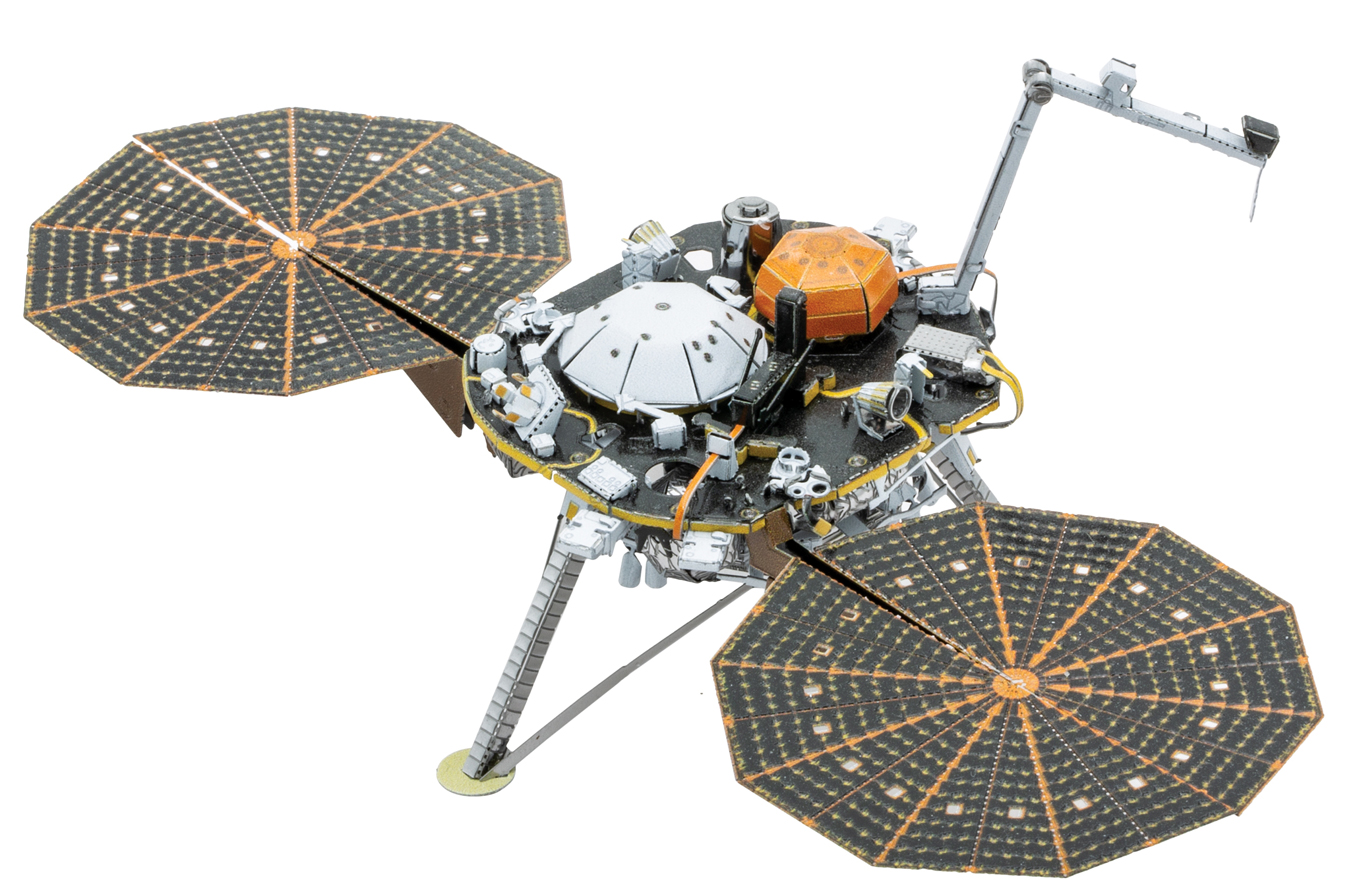 Mars InSight Space Metal Puzzles