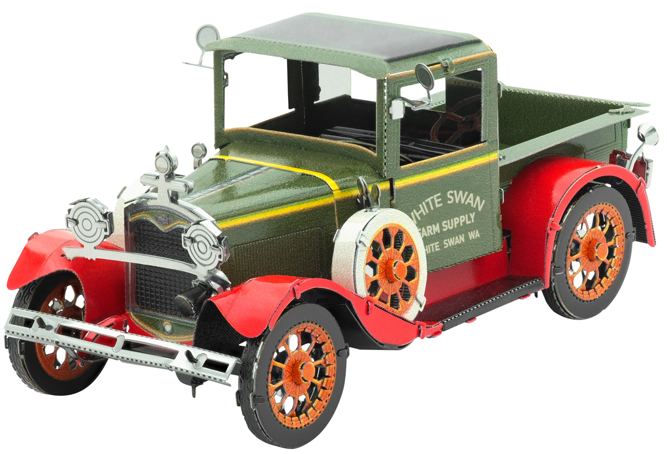 1931 Ford Model A Vehicle Vehicles Metal Puzzles