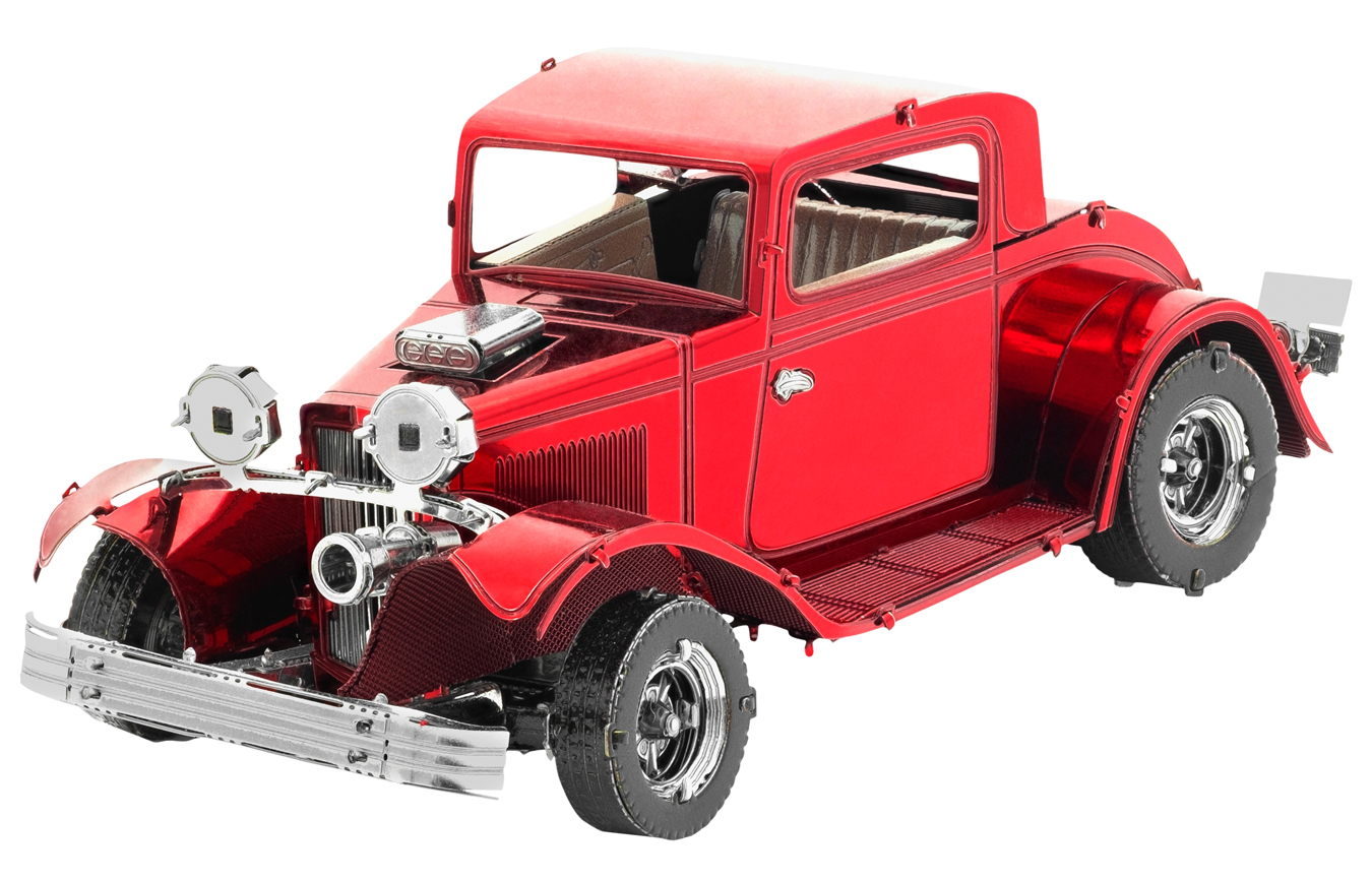 1932 Ford Coupe Vehicle Vehicles Metal Puzzles
