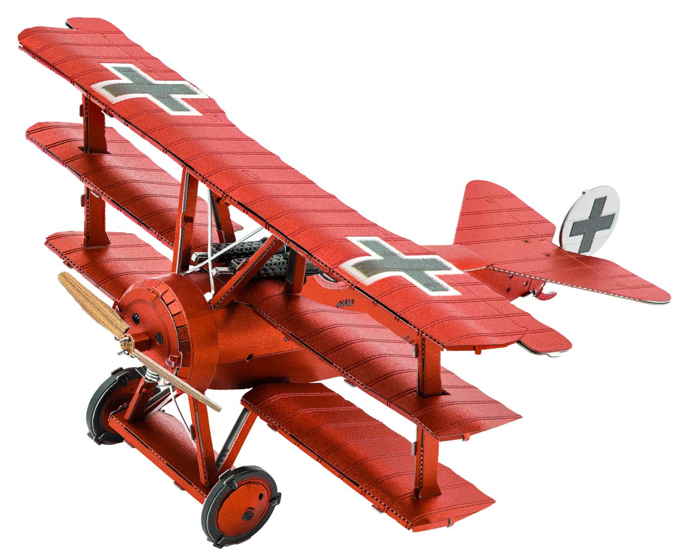 Fokker Dr.I Triplane Planes Metal Puzzles
