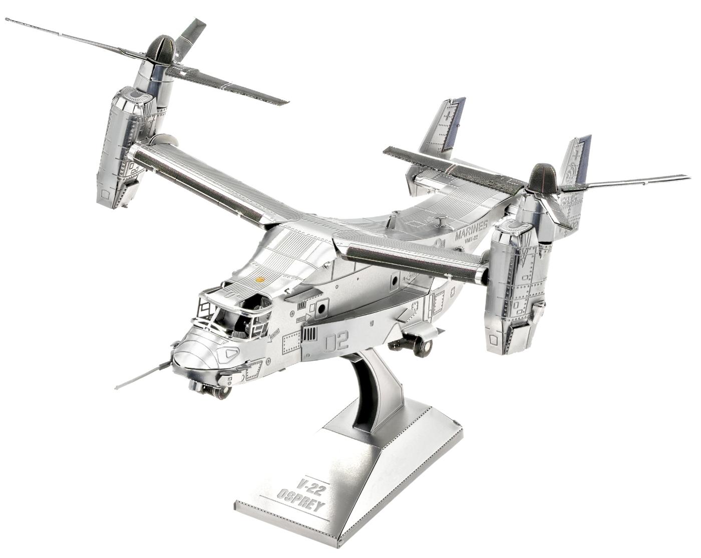 V-22 Osprey Planes Metal Puzzles