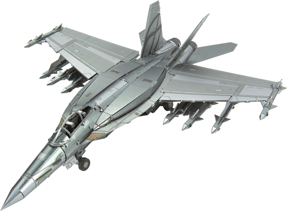 F/A - 18 Super Hornet Planes Metal Puzzles