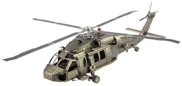 Black Hawk Planes Metal Puzzles