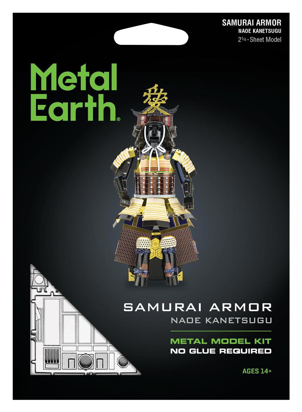 Samurai Armor (Naoe Kanetsugu) History Metal Puzzles