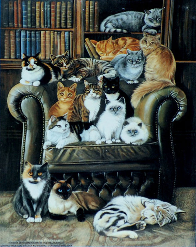 MINI - A Cat's Life Jigsaw Puzzle