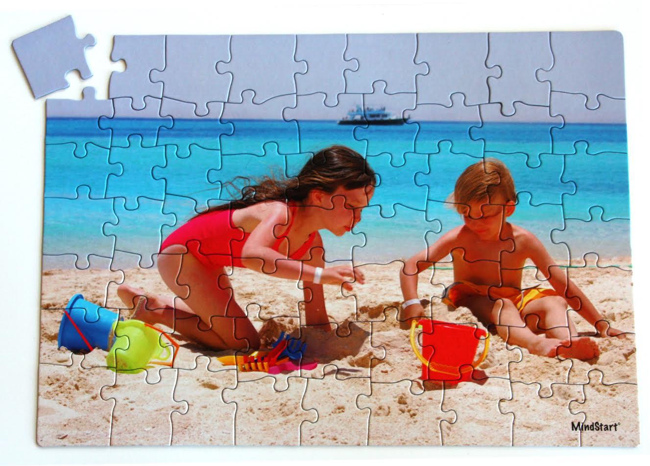 Swimming Beach Jigsaw Puzzle