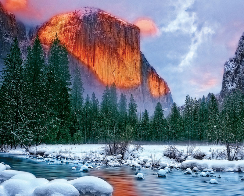 Majestic Mountain Mountains Jigsaw Puzzle