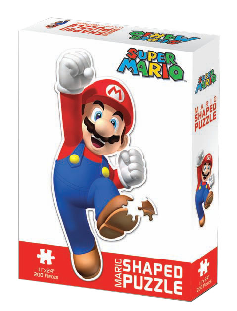 Mario - Shaped Cartoons Jigsaw Puzzle