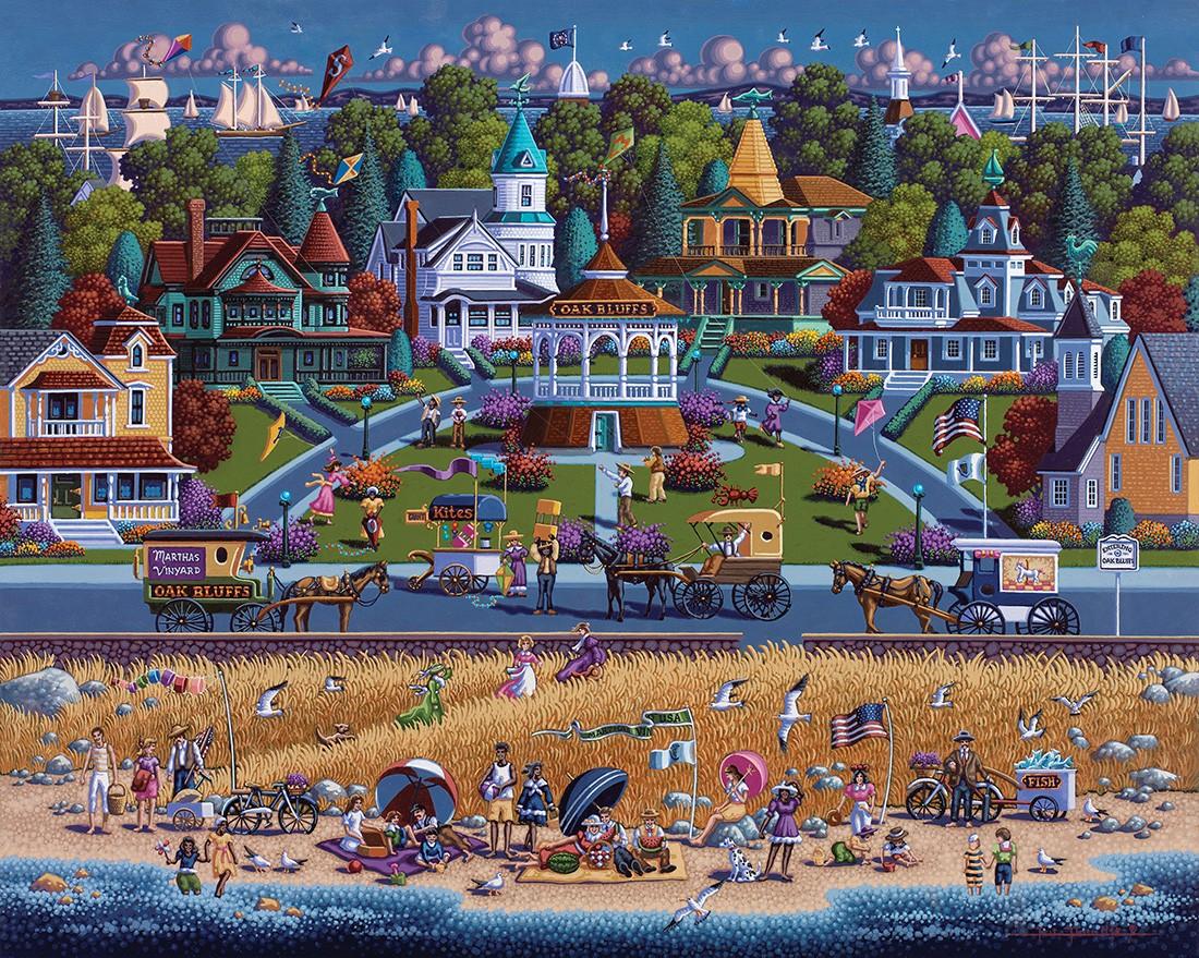 Martha's Vineyard United States Jigsaw Puzzle