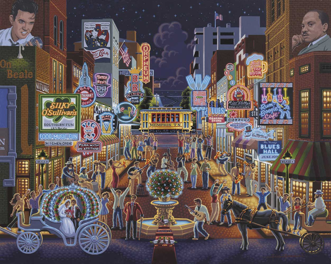 Memphis United States Jigsaw Puzzle