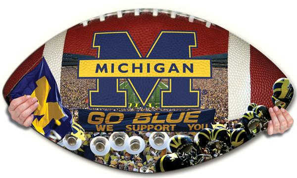 Collegiate Football - Michigan Sports Jigsaw Puzzle