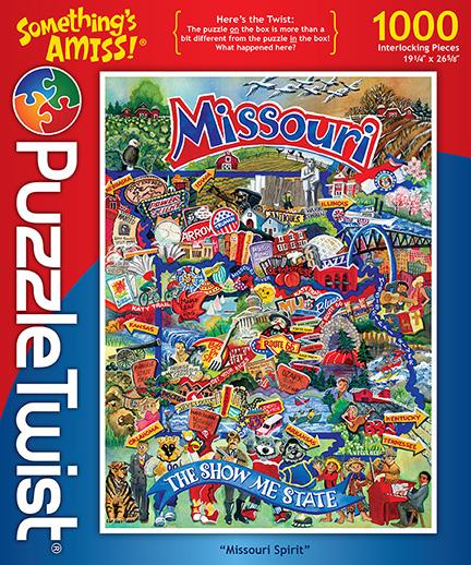 Missouri Spirit Landmarks / Monuments Hidden Images