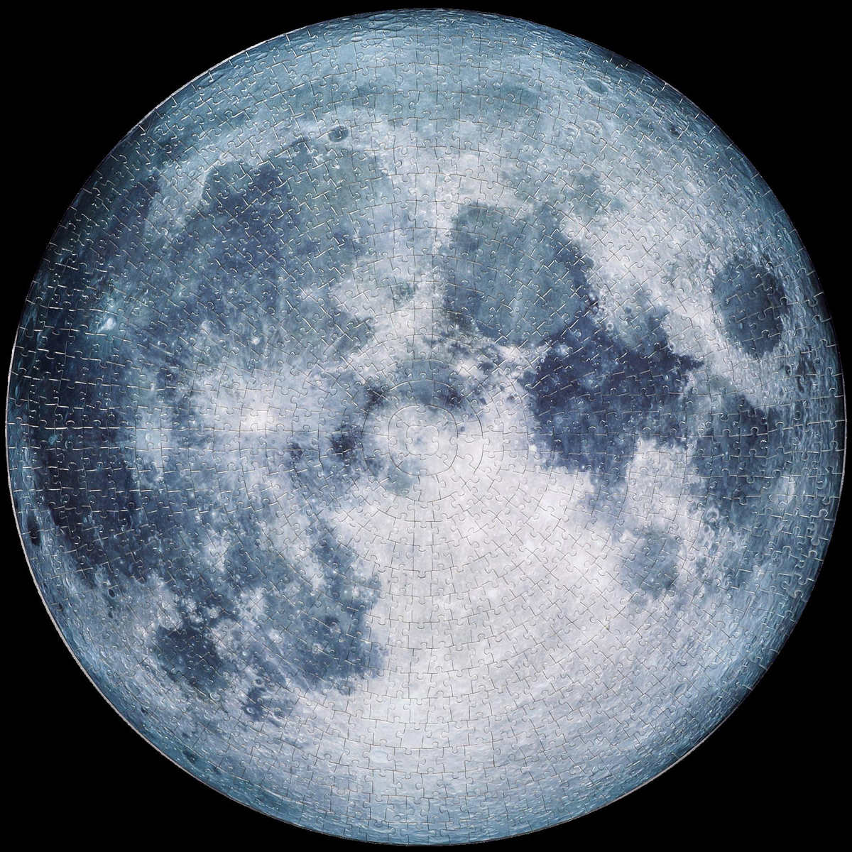 Circle Moon Jigsaw Puzzle Space Jigsaw Puzzle