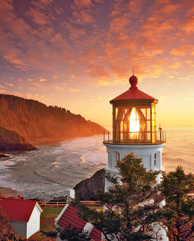 Morning Light Lighthouses Jigsaw Puzzle