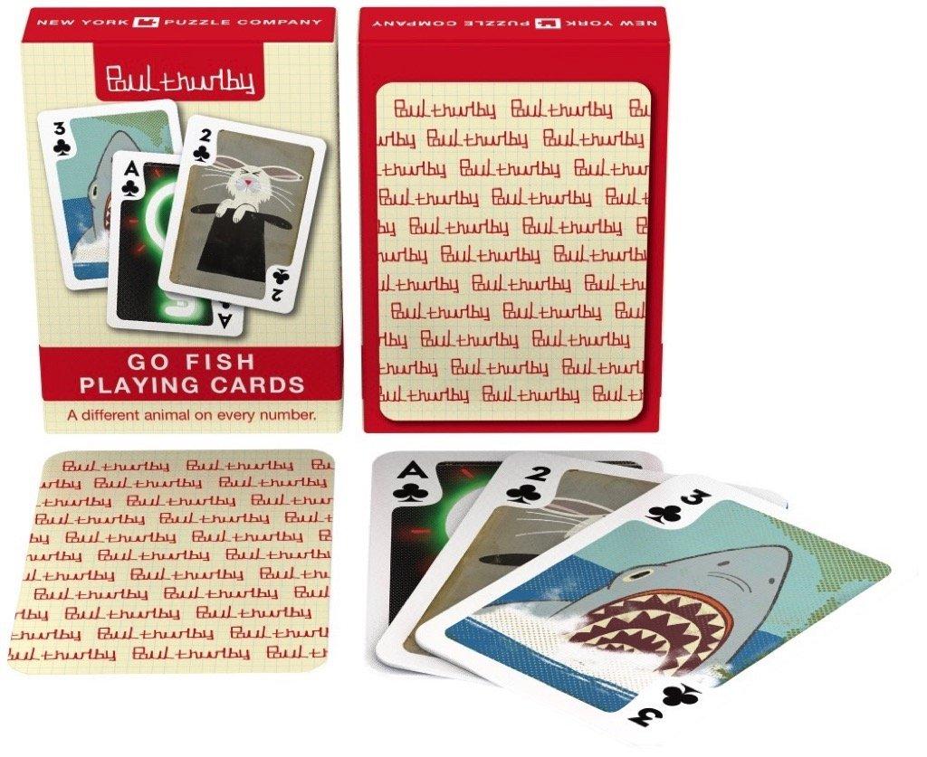 Paul Thurlby Go Fish Cards