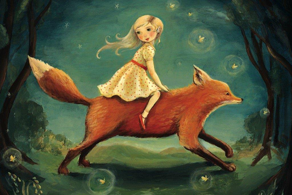 Dream Fox (Mini) Fantasy Jigsaw Puzzle