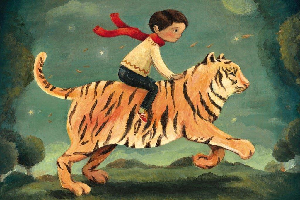 Dream Tiger Fantasy Jigsaw Puzzle