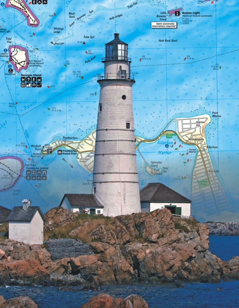 Boston Islands Maps / Geography Jigsaw Puzzle