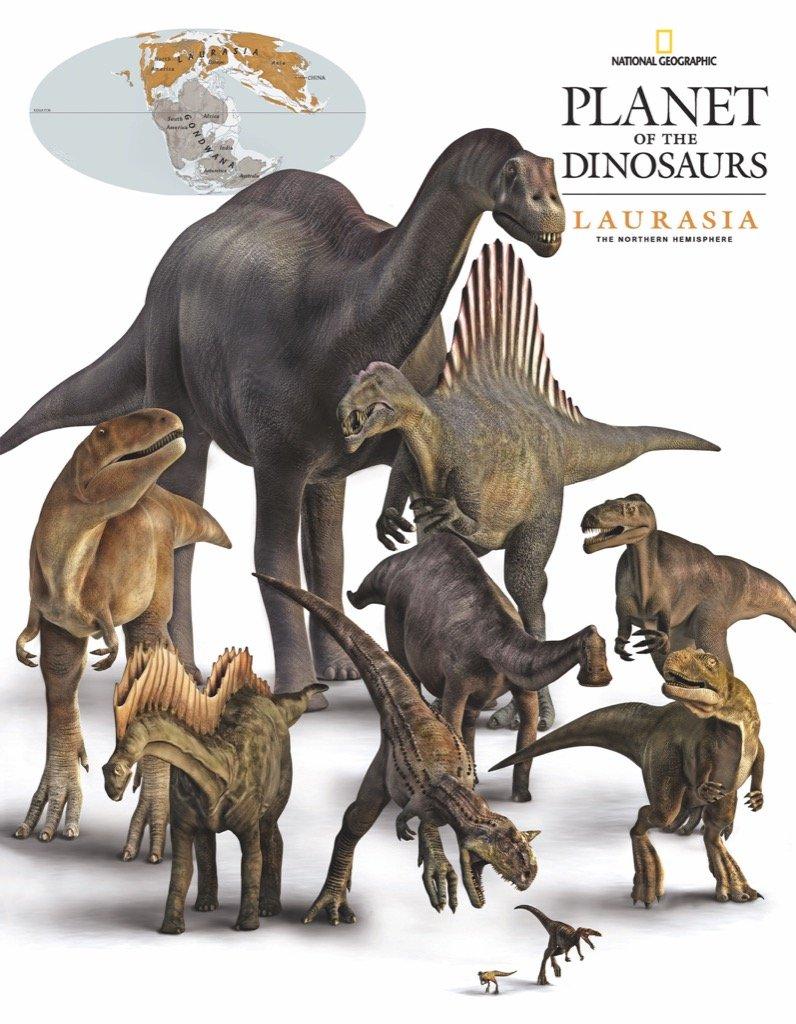 Laurasia Dinosaurs (Mini) Dinosaurs Jigsaw Puzzle
