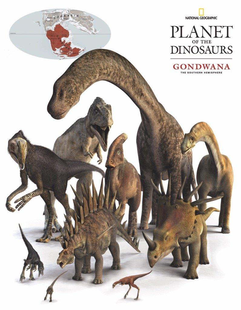 Gondwana Dinosaurs (Mini) Dinosaurs Jigsaw Puzzle