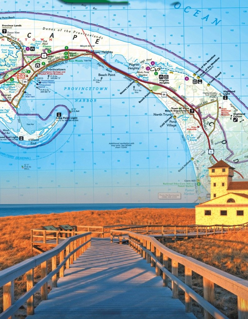 Cape Cod Maps / Geography Jigsaw Puzzle