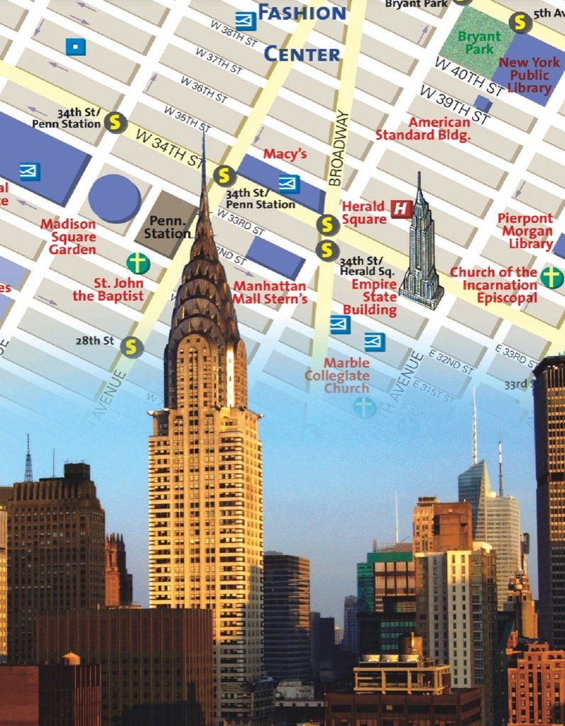 New York City Map (Mini) Maps / Geography Jigsaw Puzzle