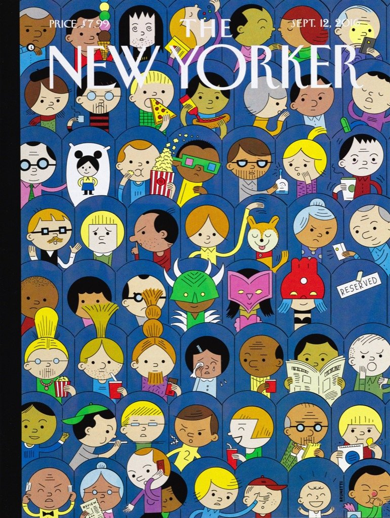 At the Movies Magazines and Newspapers Jigsaw Puzzle