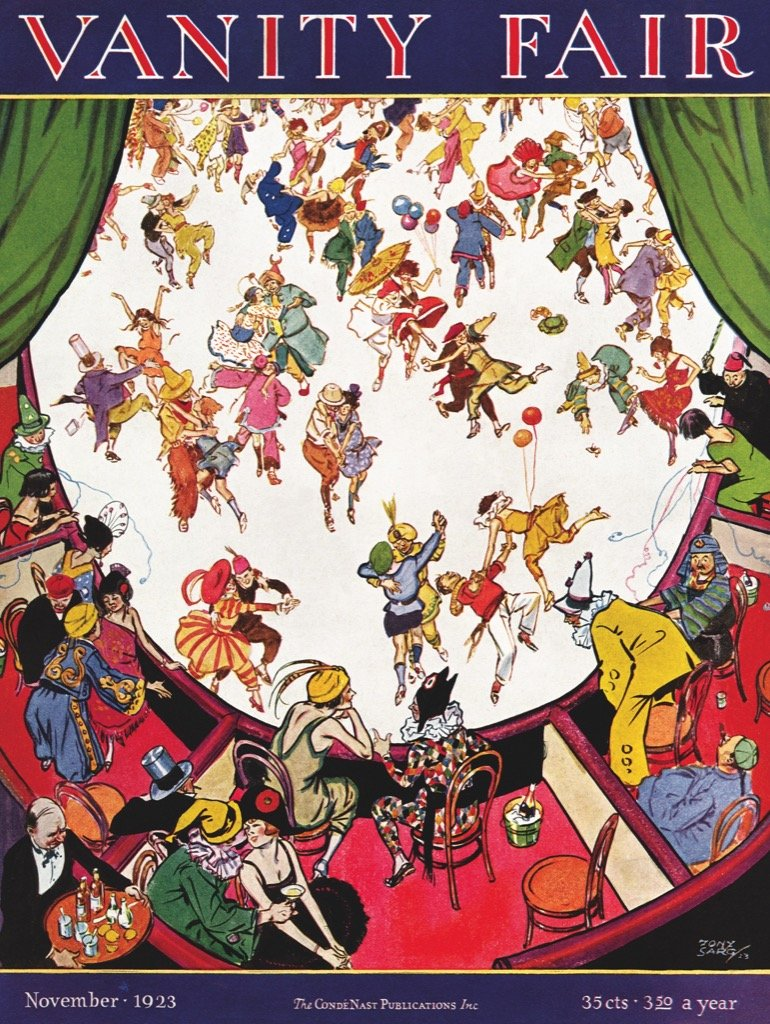 Costumes and Cocktails - Scratch and Dent Magazines and Newspapers Jigsaw Puzzle