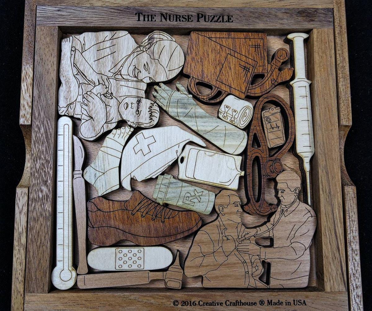 Nurse Puzzle Father's Day