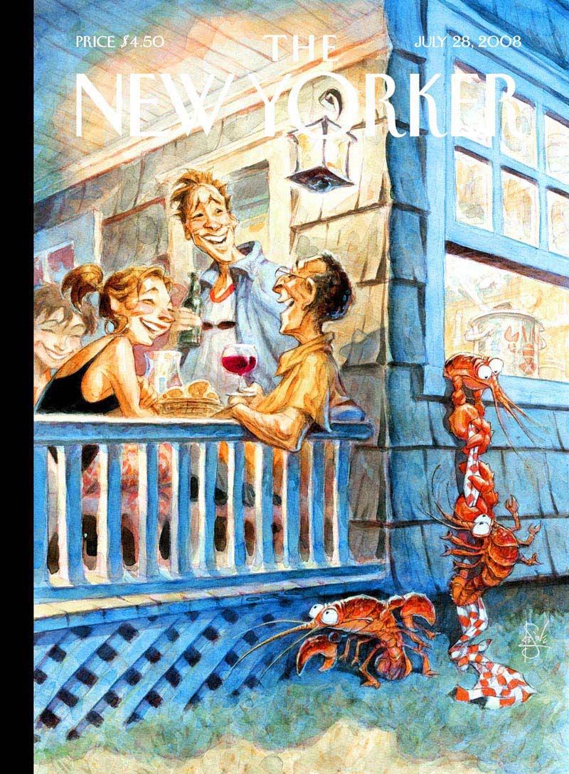 Summer Getaway (The New Yorker) Summer Jigsaw Puzzle