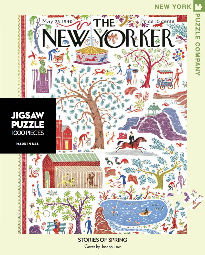 Stories of Spring (The New Yorker) Spring Jigsaw Puzzle