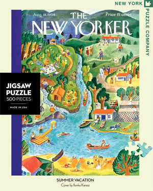 Summer Vacation Summer Jigsaw Puzzle