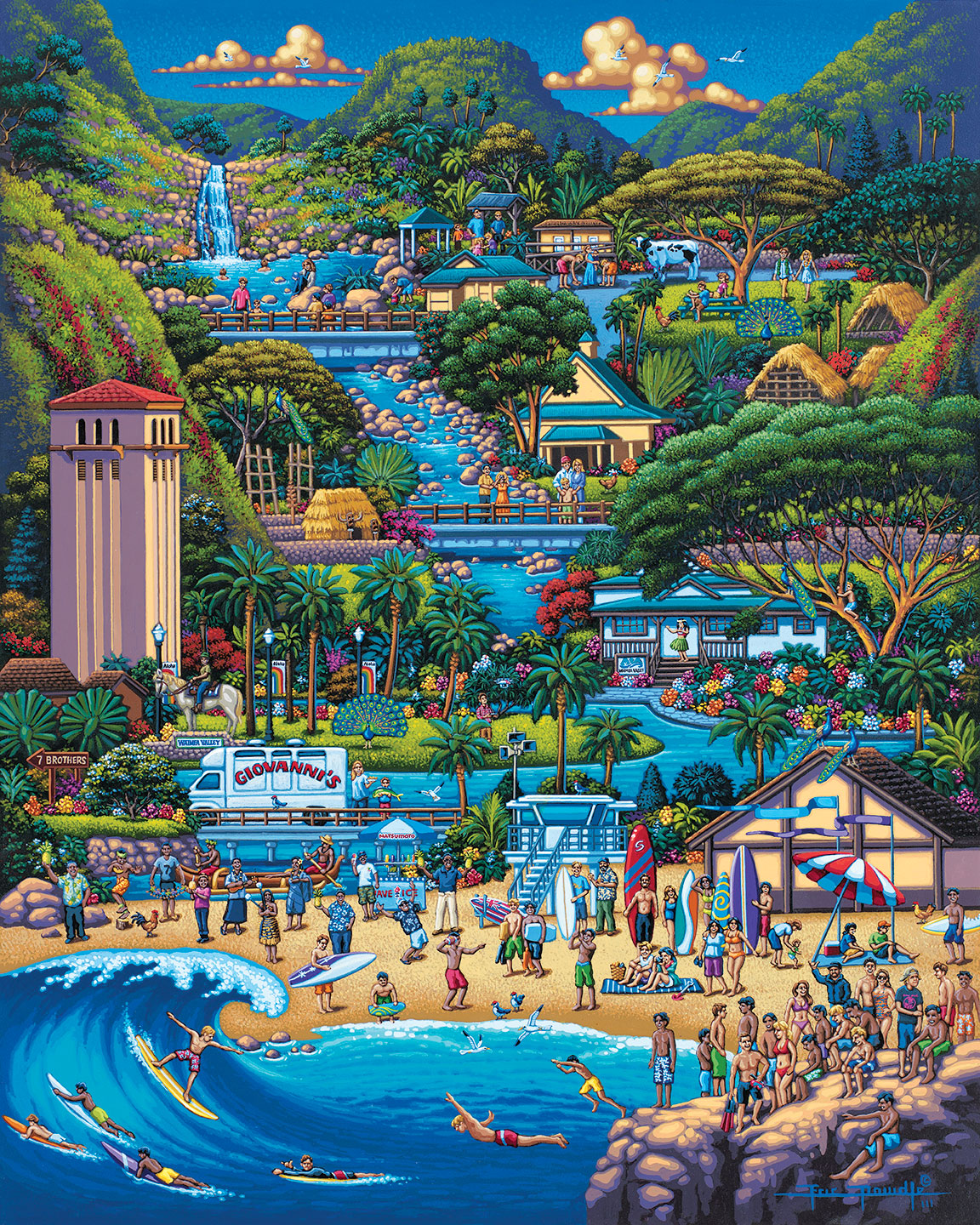 North Shore Jigsaw Puzzle