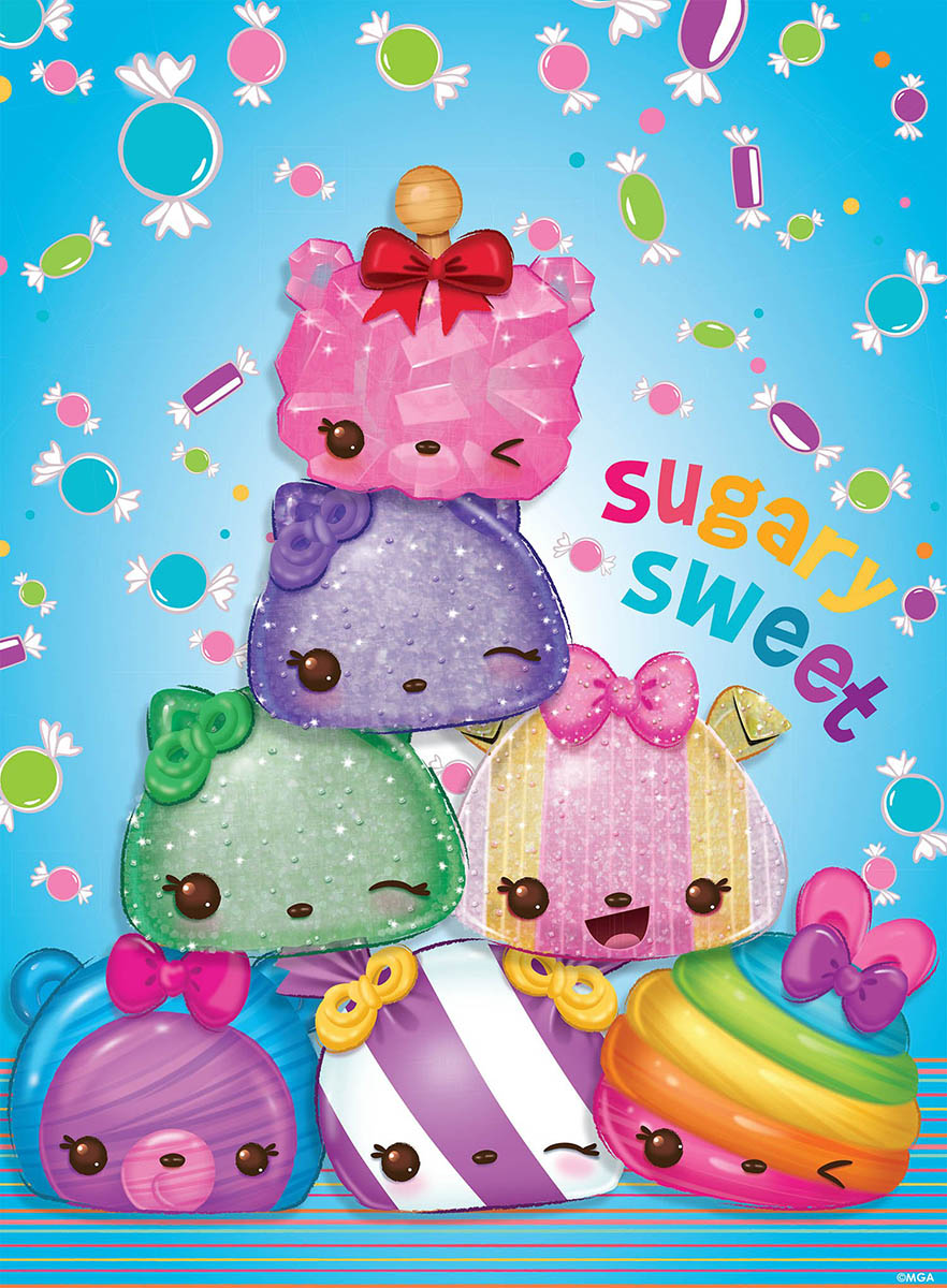Sugary Sweet (Num Noms) Sweets Jigsaw Puzzle