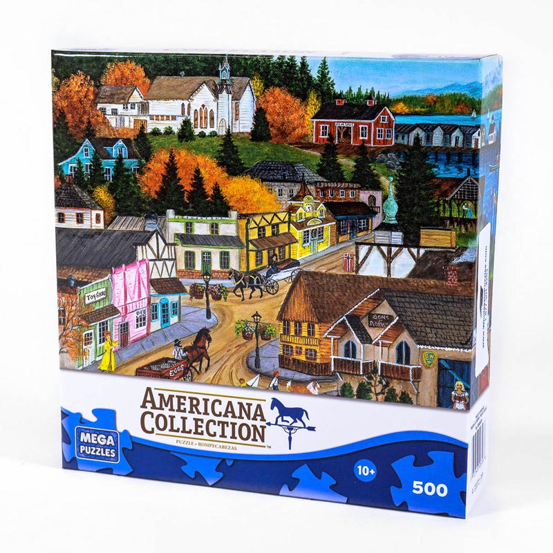 Americana Collection - Old Poulsbo Americana Jigsaw Puzzle