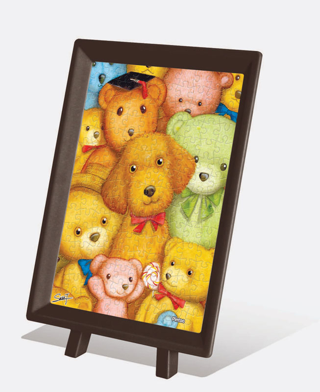 Mini Cute SMART - Dog 01 Dogs Jigsaw Puzzle