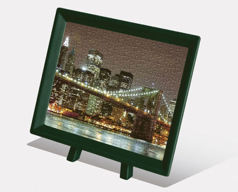 Mini Famous Architectures - Brooklyn Bridge Manhattan Skyline Landmarks Jigsaw Puzzle