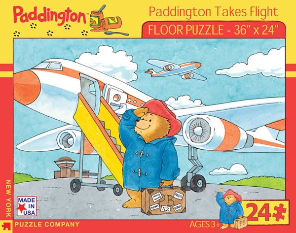 Paddington Takes Flight - Floor Cartoons Floor Puzzle