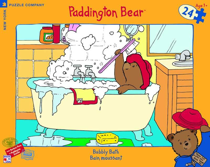 Bubbly Bath Cartoons Jigsaw Puzzle