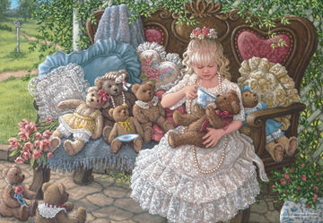 Holly's Bears People Jigsaw Puzzle