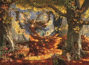 Woodland Fairy Fantasy Jigsaw Puzzle