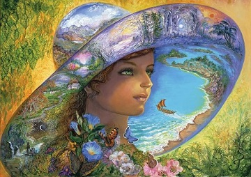 Hat of Timeless Places Beach Jigsaw Puzzle